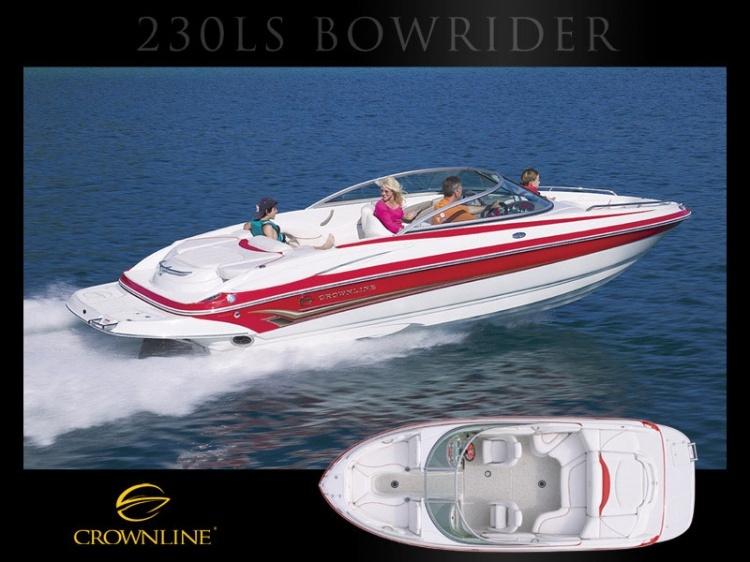 Boat 230 LS | Bowriders | Crownline | Models | Boats | Boats and yachts ...