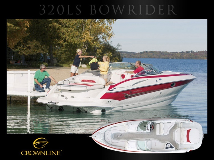 Boat 320 LS Bowrider | Bowriders | Crownline | Models | Boats | Boats and ...