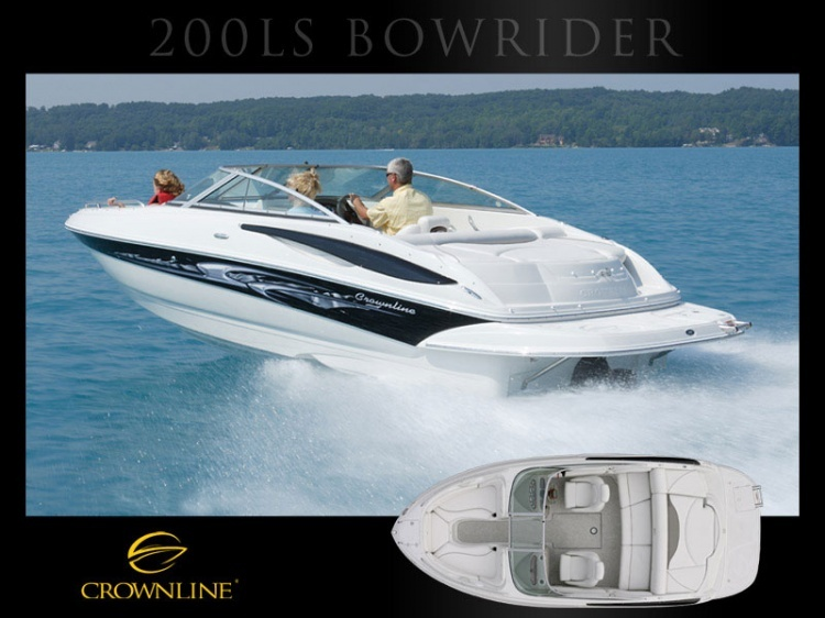 Boat 200 LS Bowrider | Bowriders | Crownline | Models | Boats | Boats and ...